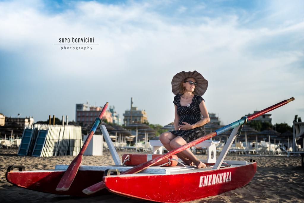 Lara | 32° settimana_foto Sara Bonvicini-16  Foto Gravidanza Rimini Maternity Mare