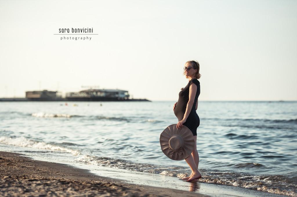 Lara | 32° settimana_foto Sara Bonvicini-19 Foto Gravidanza Rimini Maternity Mare