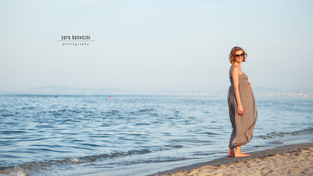 Lara | 32° settimana_foto Sara Bonvicini-24  Foto Gravidanza Rimini Maternity Mare Tramonto