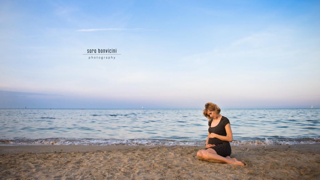 Lara | 32° settimana_foto Sara Bonvicini-37  Foto Gravidanza Rimini Maternity Mare