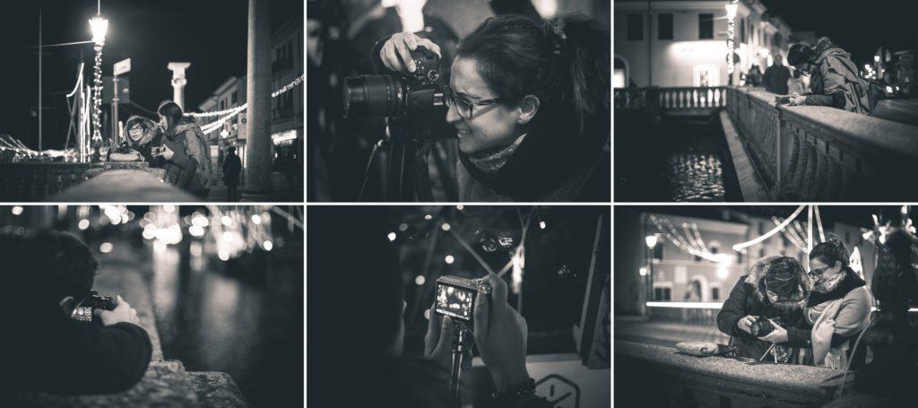 pratica e teoria in un corso di fotografia a Rimini