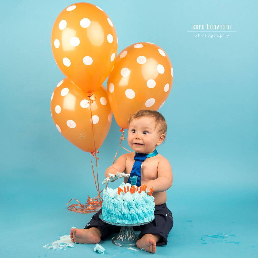 Smash Cake Rimini fotografo primo compleanno 2