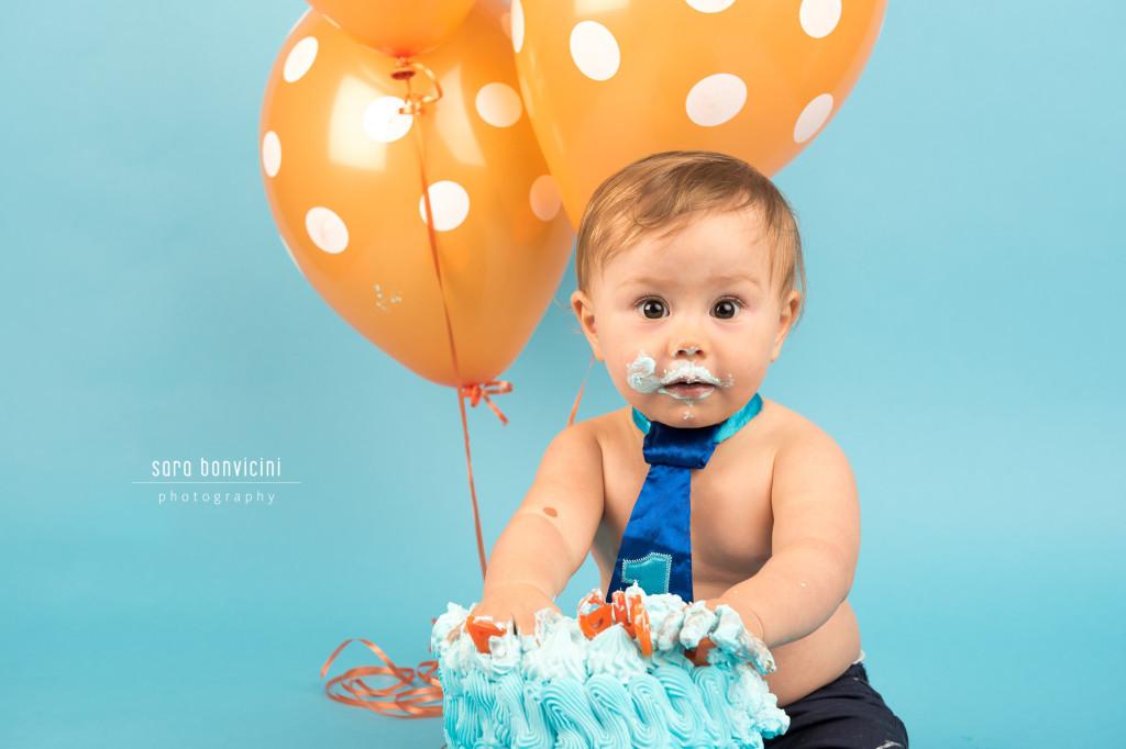 Smash Cake Rimini fotografo primo compleanno 4