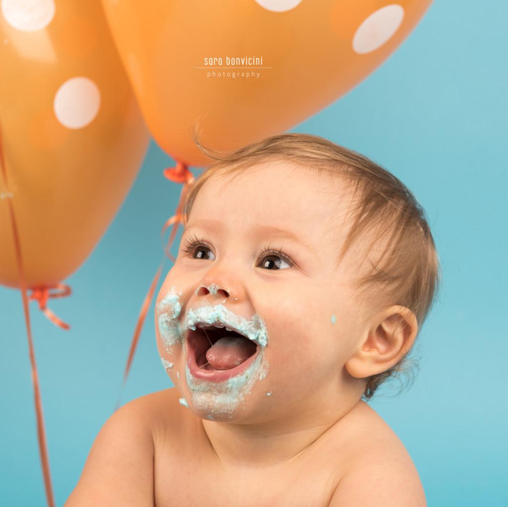 Smash Cake Rimini fotografo primo compleanno 6