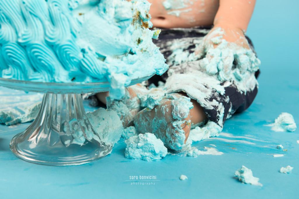 Smash Cake Rimini fotografo primo compleanno 7