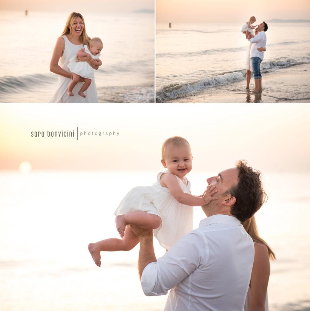 fotografare una famiglia che cresce