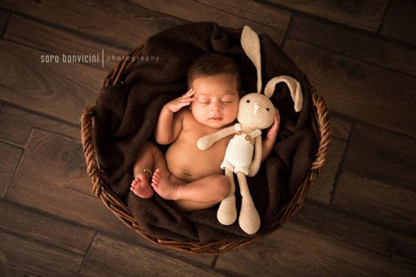 fotografo neonati in studio confortevole a Rimini