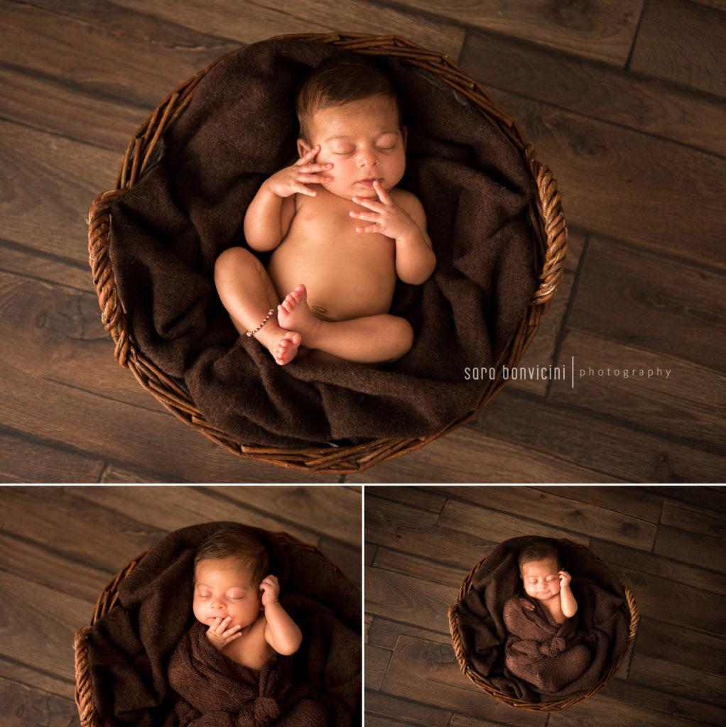 fotografare solo con luce naturale i neonati