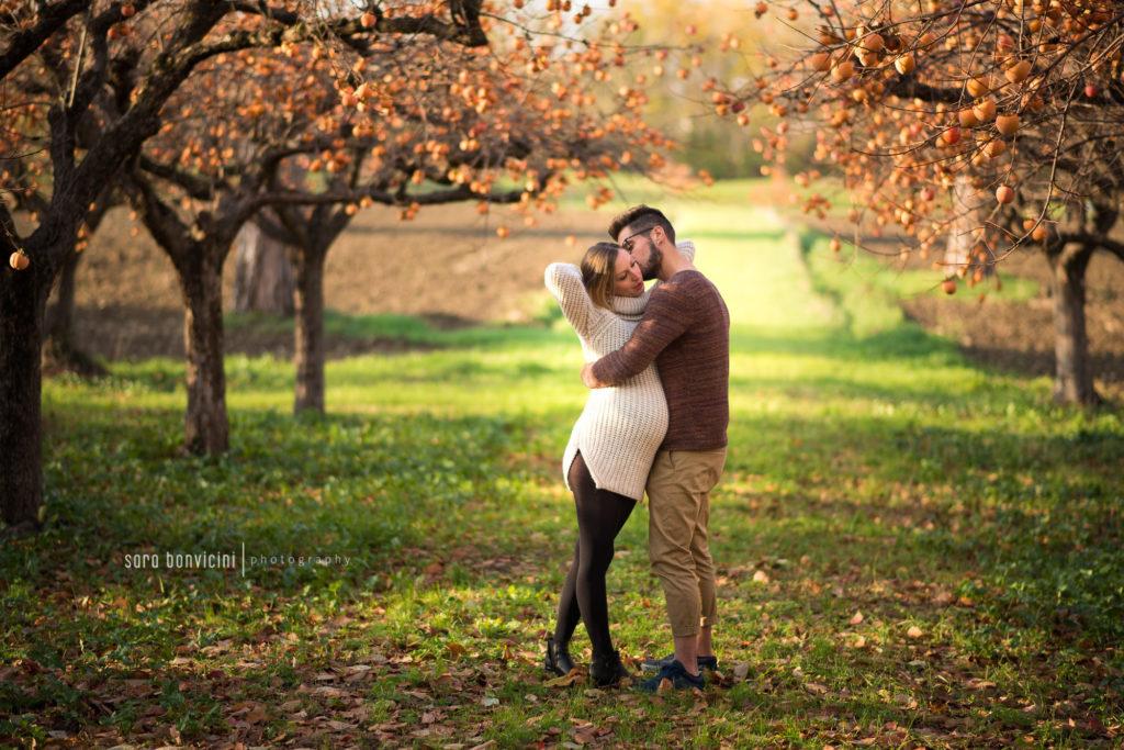 immortalare la bellezza della gravidanza insieme al proprio compagno
