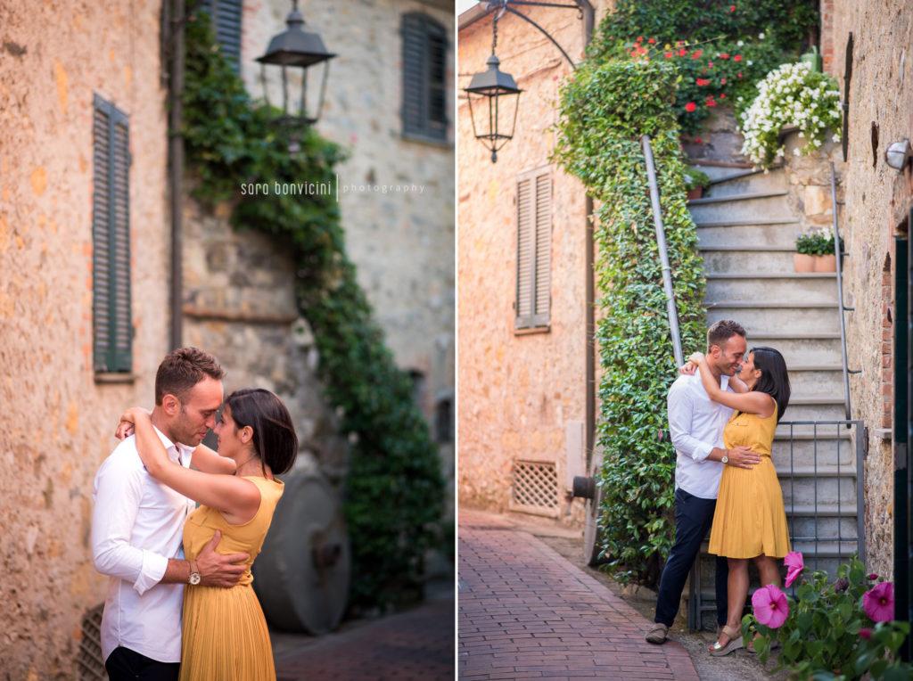 sessione di coppia per celebrare l'amore tra fidanzati