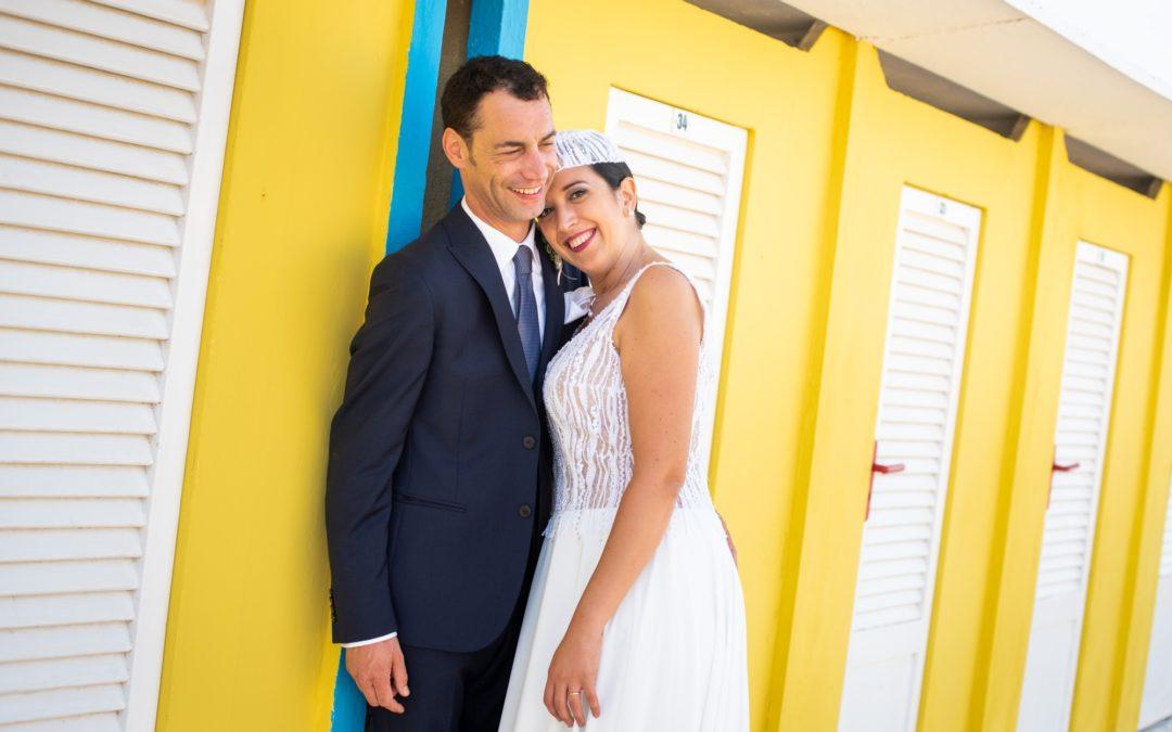 Matrimonio a Rimini sul mare: Francesca e Livio
